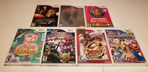 Jeux Nintendo wii etat neuf