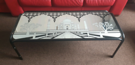 Large Glass Coffee Table