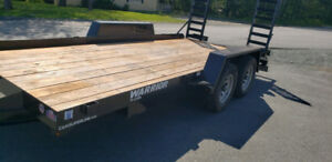 "Equipment/ Utility/ Car Hauler Trailer 16' L x 83""W  4 Ton*MINT*"