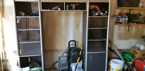 Wall Unit Free and sitting in Garage