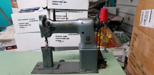 Post Double Stitch Sewing Machine