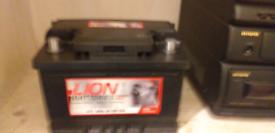 New Lion 075 car battery