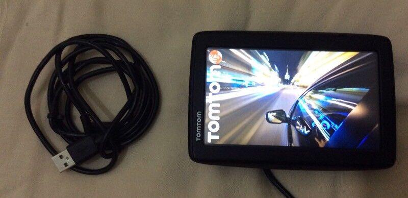 GPS TOM-TOM START 25 , UK & EUROPE LIKE BRAND NEW FOR SALE