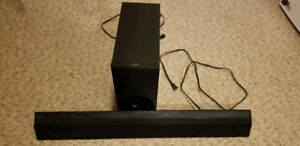 Sony Sound bar with Wierless Subwoofer