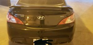 2010 Hyundai Geneis Coupe 2.0t AUTOMATIC LOW KMS