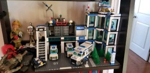 Lego Police and Fire departments