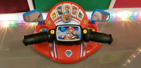 Paw patrol steering wheel