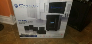 Cayman home theatre speaker system 5.1