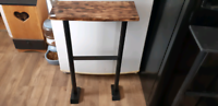 Handcrafted wall/entryway table