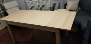 Bjursta table- seats 4-8 *Excellent Condition*