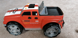 Little Tikes truck, trailer and motorcycles