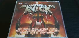 MONSTERS OF ROCK. 3 CDS ALBUM.