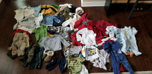 6-12 month baby clothing  bundle (50+ items)
