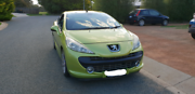 2008 Peugeot 207 CC Macgregor Belconnen Area Preview