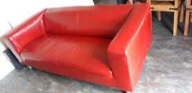 Free Sofa, IKEA Red Leather
