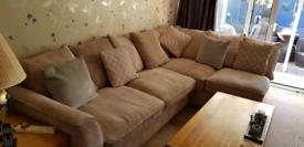 Material corner sofa for sale