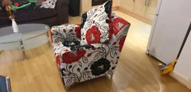 Beautiful Armchair with Cushion