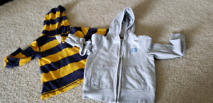 Size 4 two hoodies