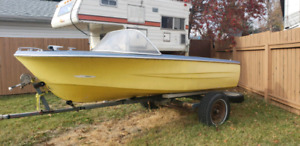 Project boat (trailer not included)