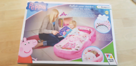 peppa pig travel bed