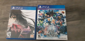 PS4 Games both for $25