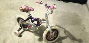 a Great Girl Bicycle with balance training Pedals