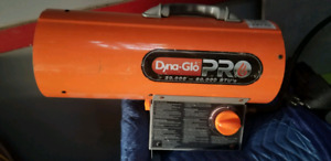 Dyna-Glo Pro propane/electric heater
