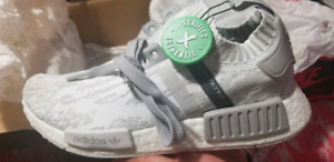 NMD R1 PK GREY GLITCH Japan Womens Sz 7 $250 Firm
