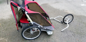 Chariot cougar 2 child carrier bike NEW PRICE