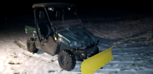 2004 Rhino with plow