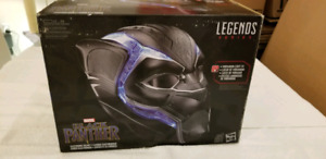 Black panther mask toy