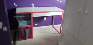 IKEA Desk with Matching Accessories