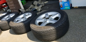 E46 summer tires and rims