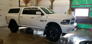 Lifted 2016 dodge ram 1500 sport