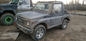 1987 Suzuki Samurai sj413 whole or part out