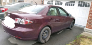 Mazda 6 with winter tires
