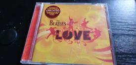 THE BEATLES...LOVE..CD ALBUM..