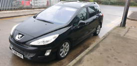 Peugeot 308 sw 1.6 diesel 7m mot £650