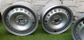Powder coated wheels to fit VW.