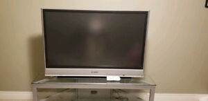 "52"" Panasonic TV with 5.1 Surround Sound System"