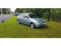 2008 Chevrolet Lacetti sx 1.6 service history low mileage 26000 miles only, Mot till 1/2/2018