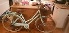 Pendleton Ladies Bike, Mint Green, with Basket & Bike Lock