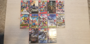 Plein jeux Switch Mario Odyssey Pokemon Zelda etc. Prix Descript