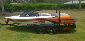 Protege custom ski boat