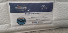 Silentnight miracoil Hatfield single mattress