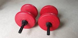 Barbells, 2 x 8 kg