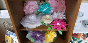 Beautiful hand made paper flowers