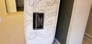 Kingsdown King size mattress and boxspring - like new!!