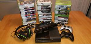 Console Xbox 360 + 3 Manettes + 70 Jeux a 5 $$
