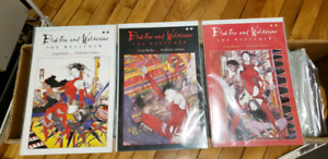 Elektra and Wolverine The Redeemer Comics Book Complete 1 to 3